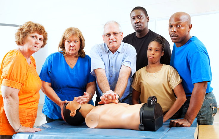 training for CPR